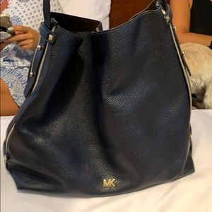 Michael Kors navy blue purse